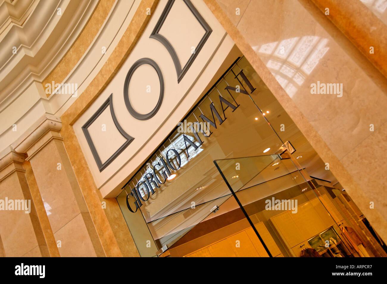 The Giorgio Armani Store within the Bellagio Hotel and Casino in Las Vegas,  Nevada - 90f357898d0d