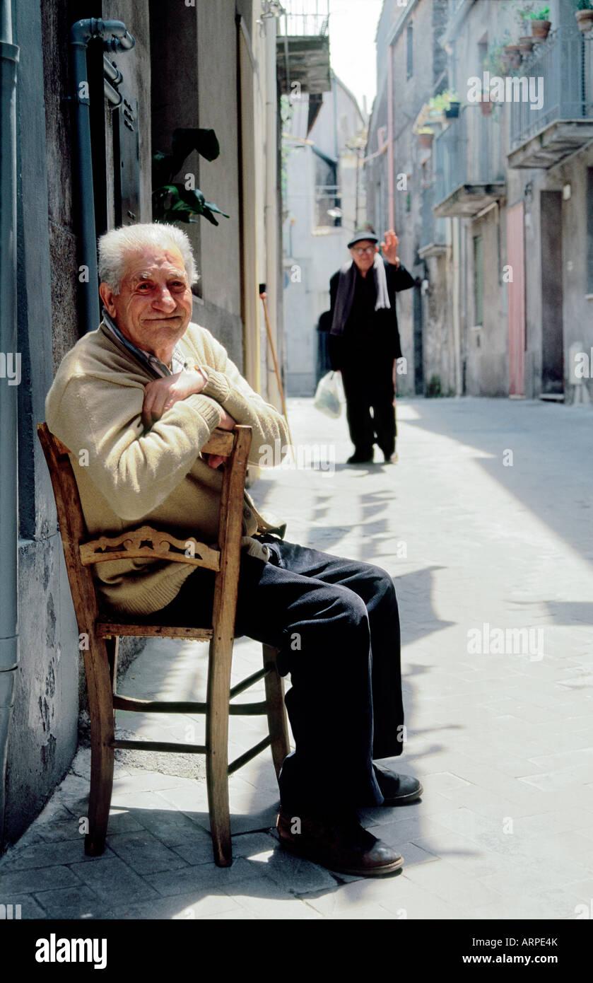 Senior italian