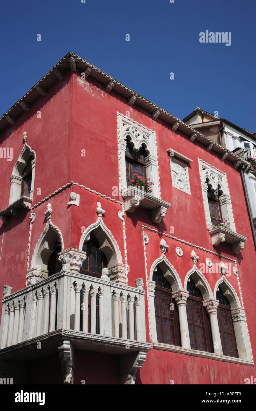 Venetian House Exterior Stock Photos & Venetian House Exterior Stock ...