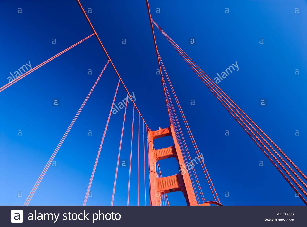 The Golden Gate Bridge, San Francisco, California, USA. - Stock Image