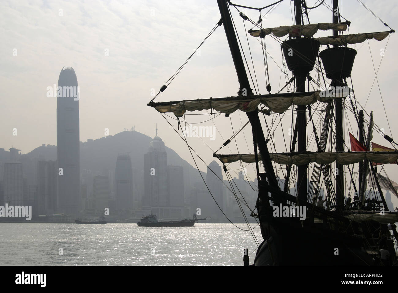 Piracy on the South China Sea - Stock Image