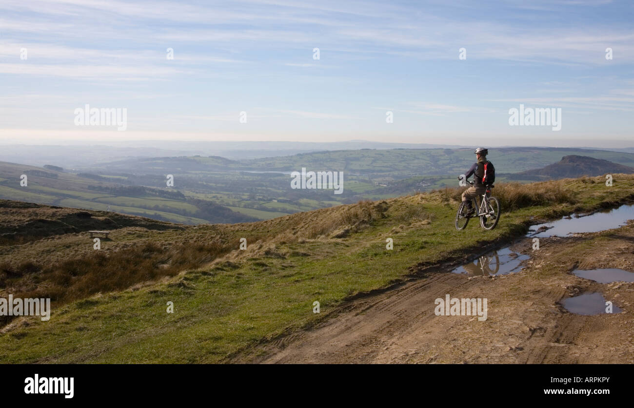 Staffordshire Landscape - Stock Image