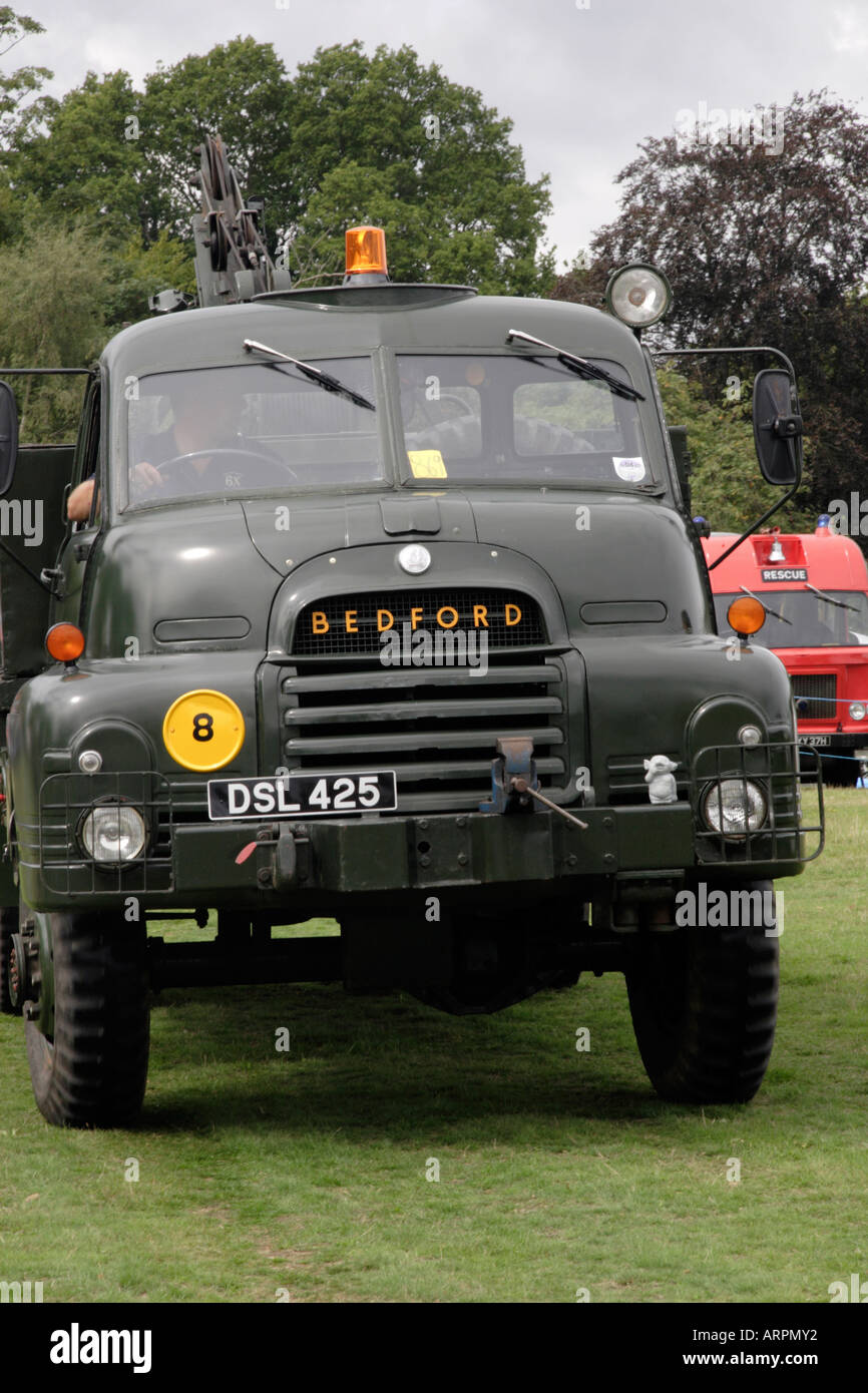 Vintage Bedford, Rudgwick Steam & Country Show 2006 - Stock Image