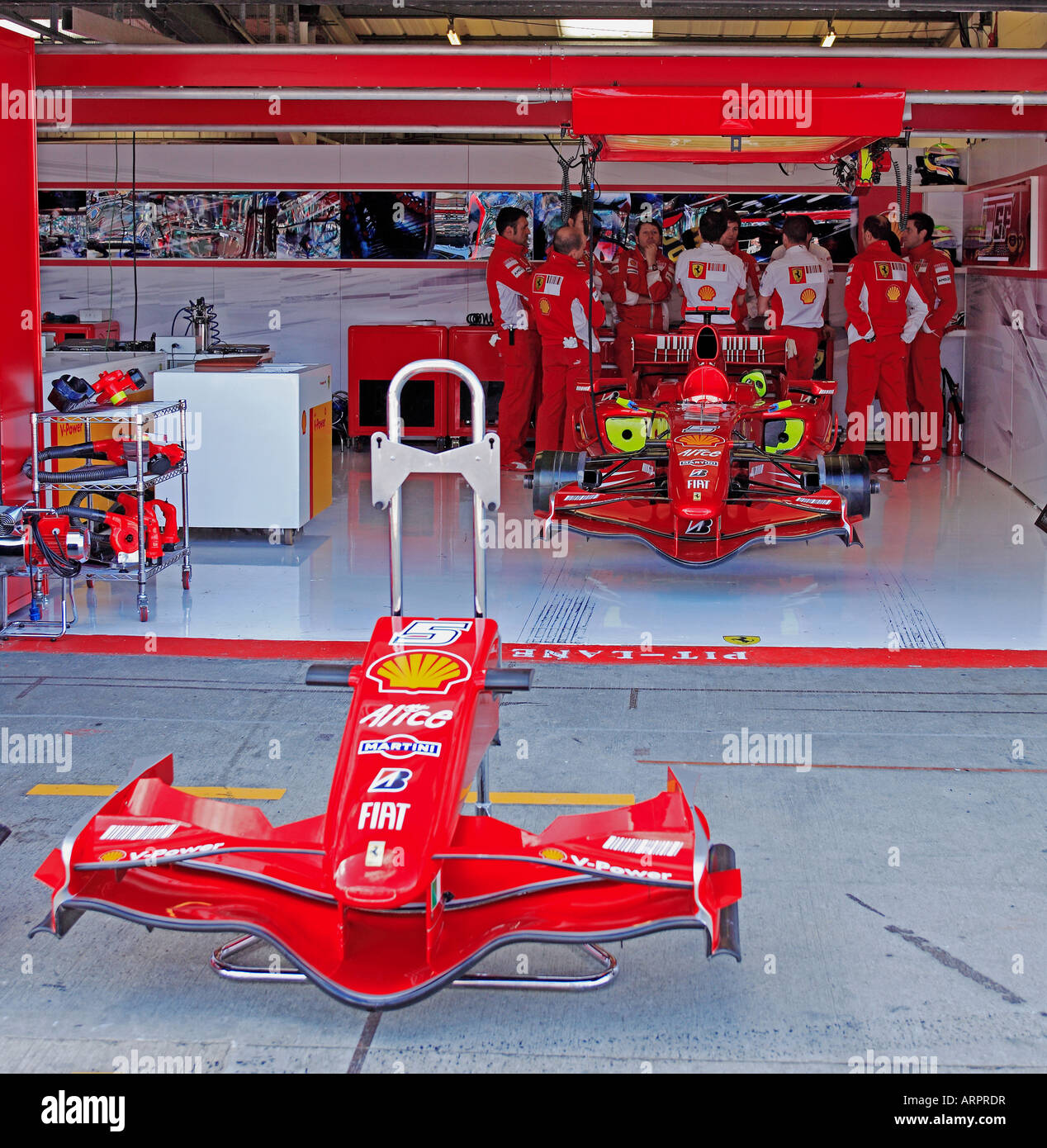 Heres What Happened With The Botched F1 Pit Stop That