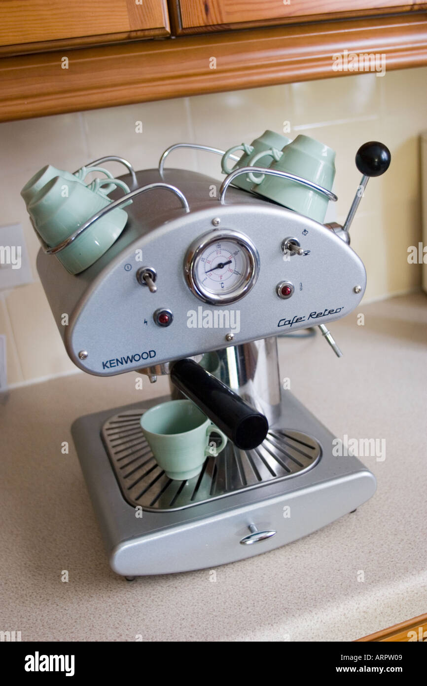 Kenwood Cafe Retro Coffee machine Stock Photo: 5259528 - Alamy