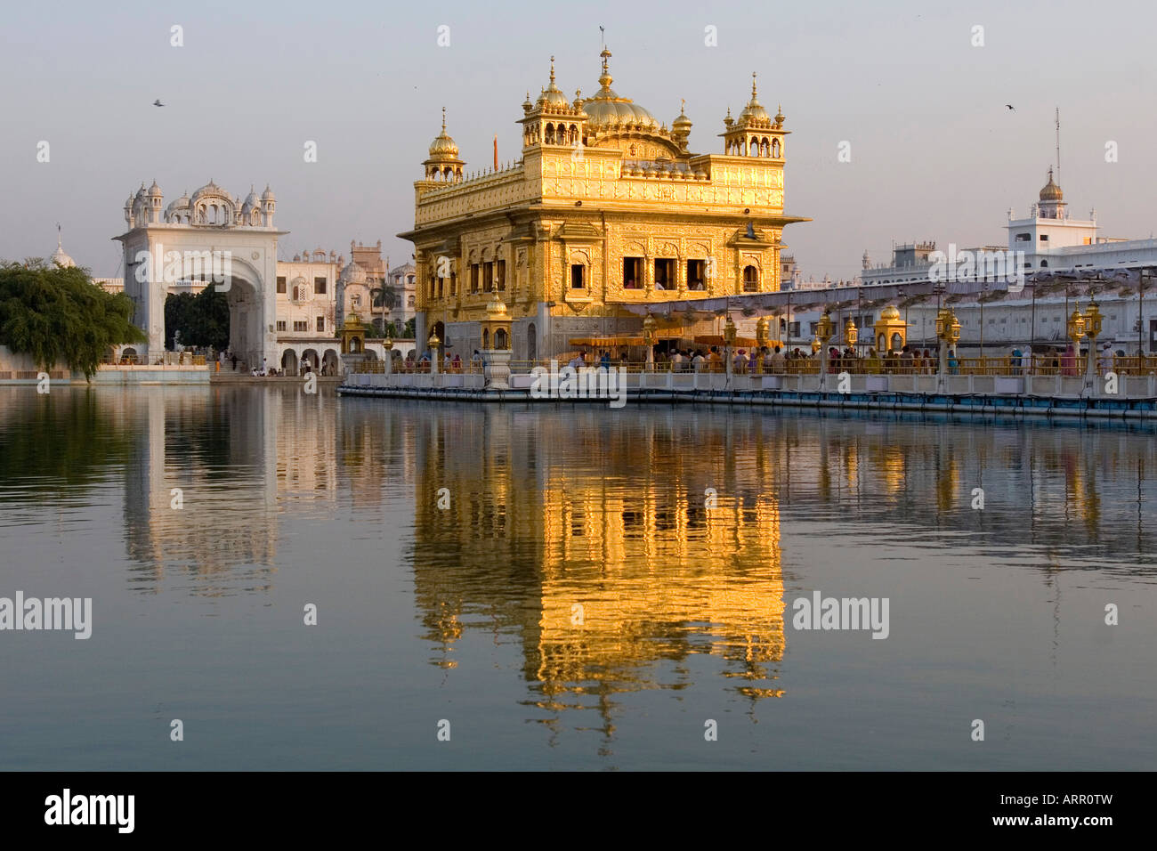 amritsar golden temple india landscape stock photos & amritsar