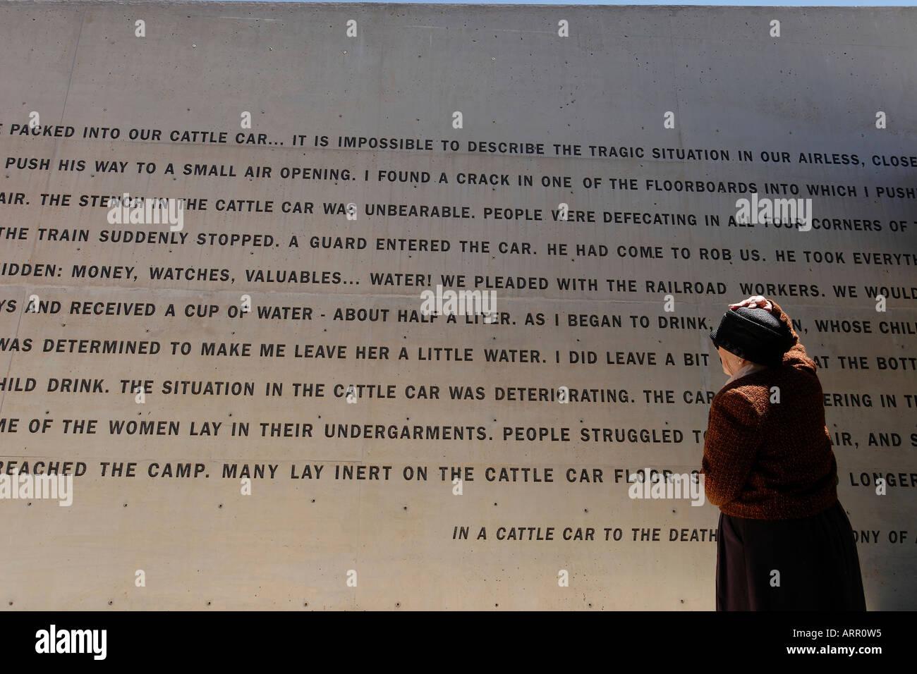 Israel Jerusalem Yad Vashem the Holocaust Memorial and Museum - Stock Image