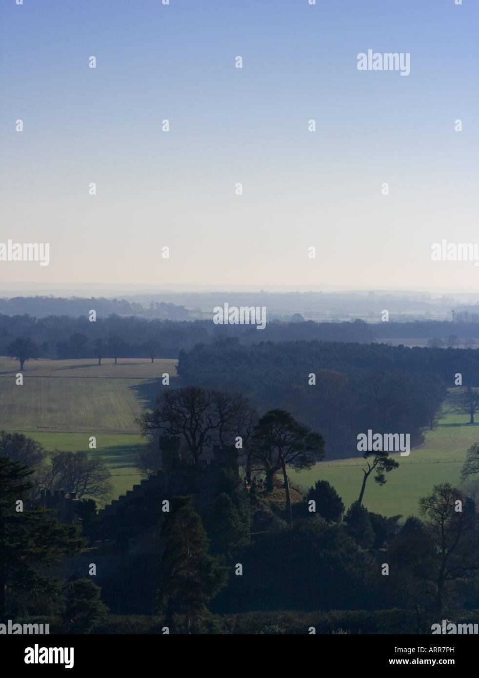 Enchanted landscape - Stock Image
