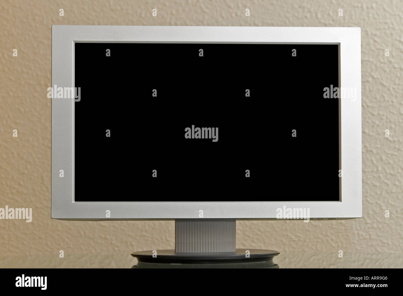 Lcd tv monitor with hd - Stock Image