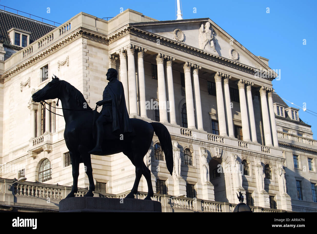 Bank of England, Threadneedle Street, City of London, London, England, United Kingdom - Stock Image