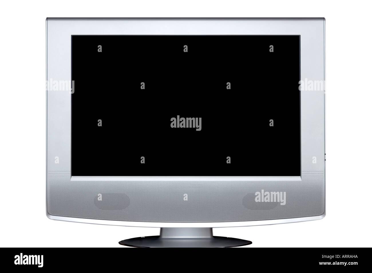 Modern lcd flat tft stereo hd tv television - Stock Image