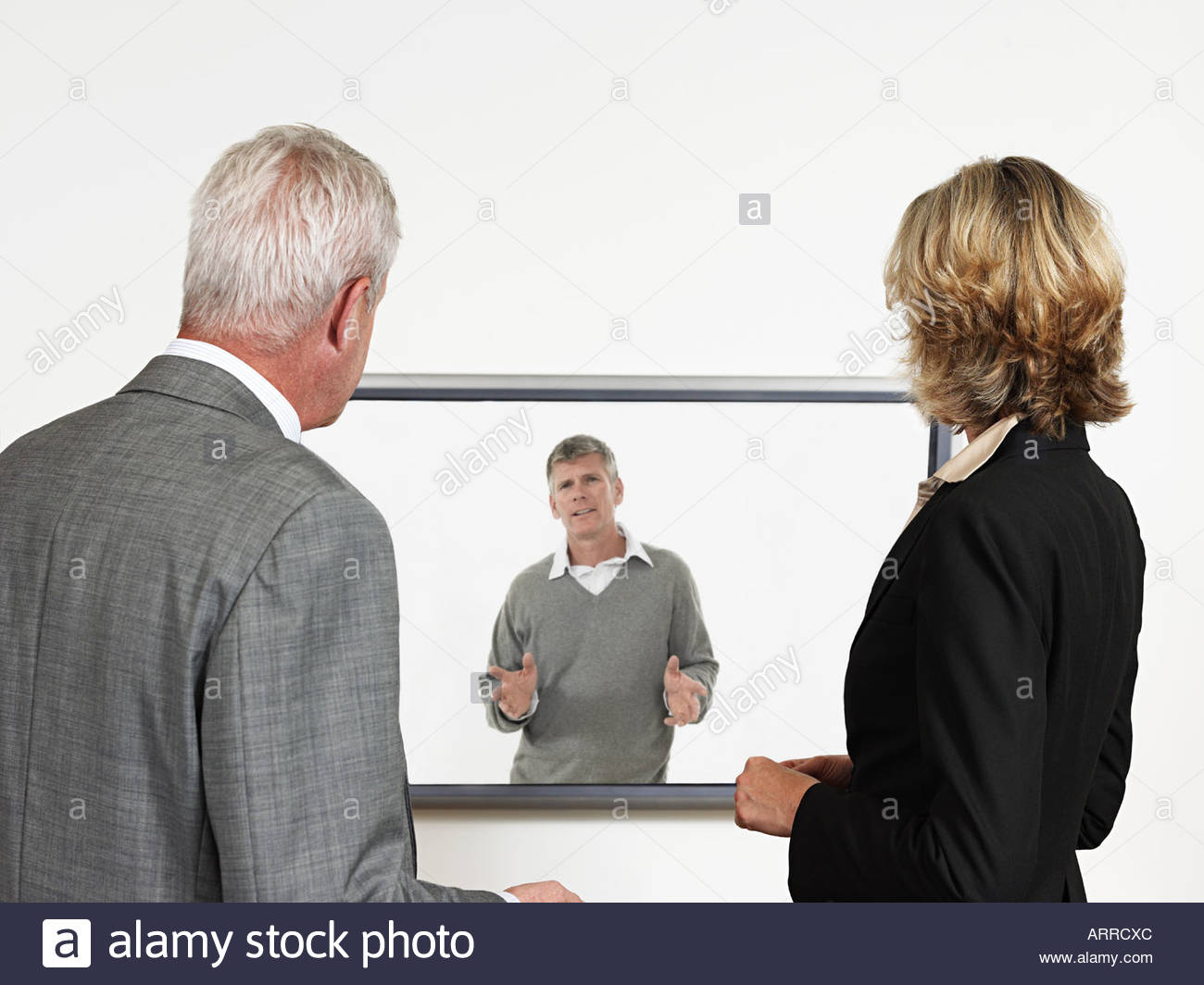 Video conference - Stock Image