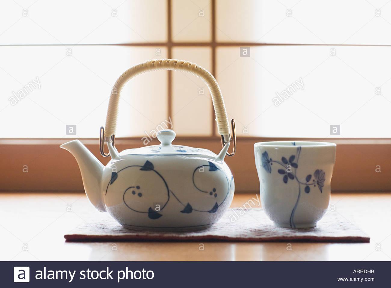 Tea ceremony - Stock Image