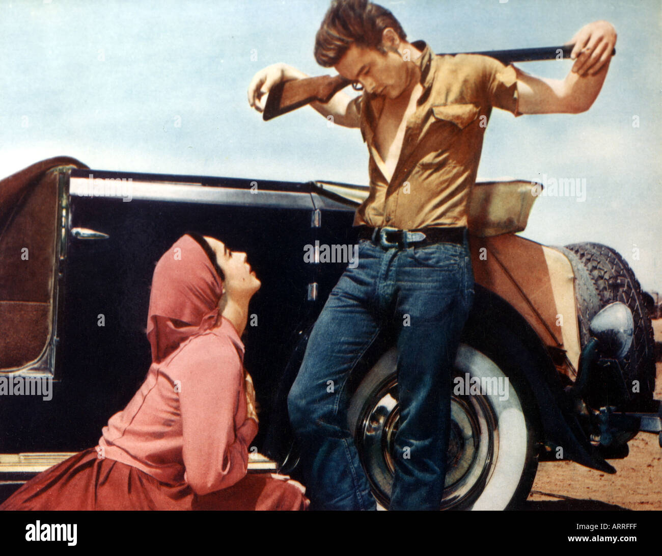 GIANT 1956 film with Elizabeth Taylor and James Dean this is the so Stock Photo: 2998270 - Alamy