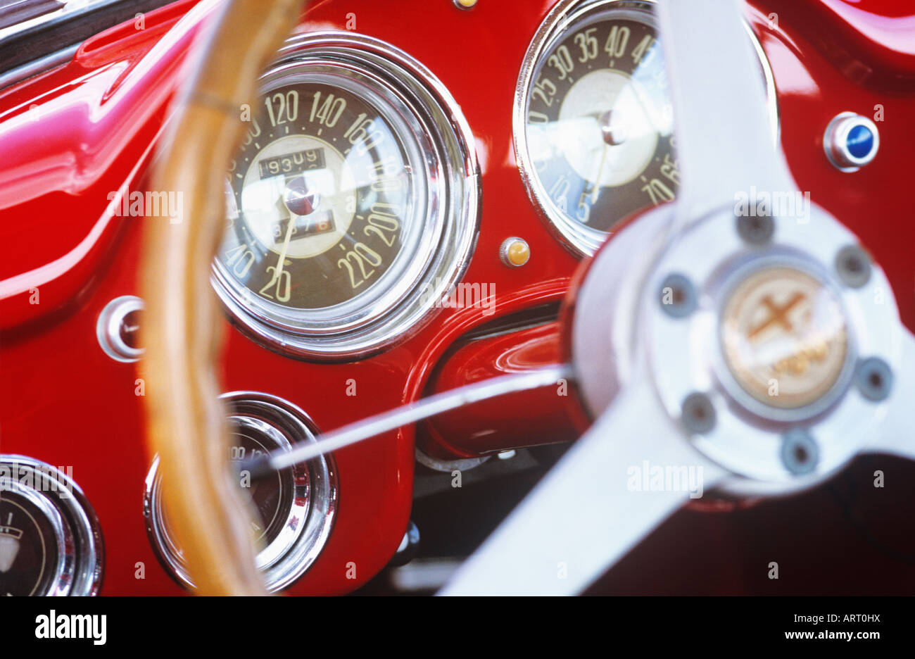 Alfa Romeo Lights Stock Photos Images Alamy Sdometer Wiring Diagram Interior Image