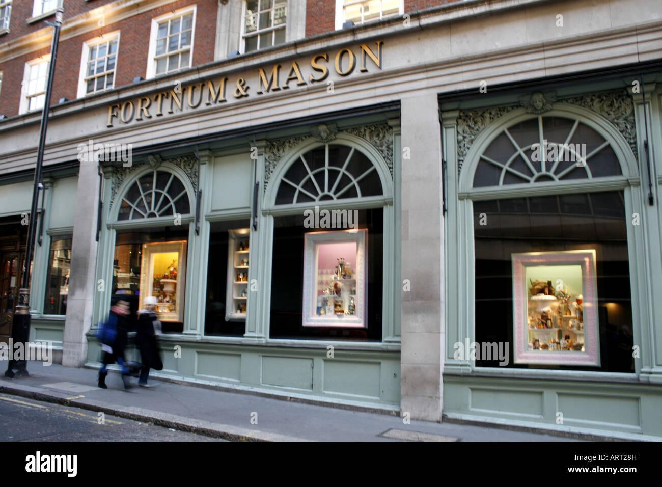 fortnum & mason department store piccadilly london uk 2008 - Stock Image