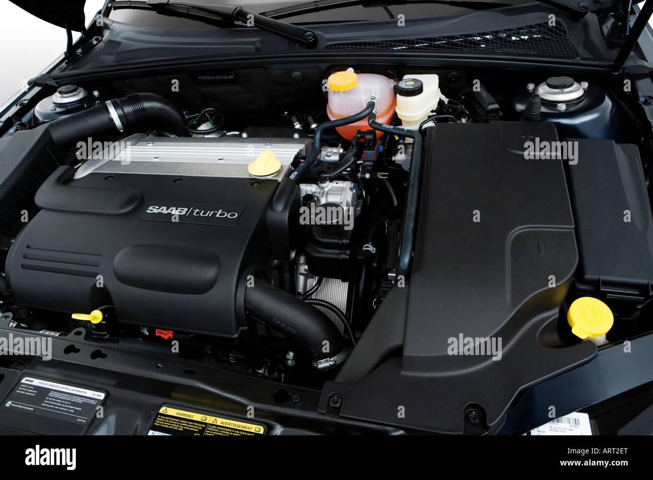 2008 Saab 9 3 2 0t Sport Stock Photos & 2008 Saab 9 3 2 0t Sport