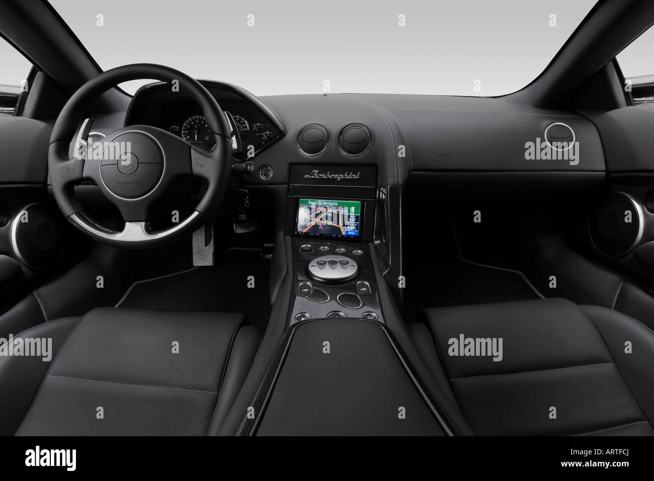 2008 Lamborghini Murcielago Lp640 In Gray Dashboard Center Stock