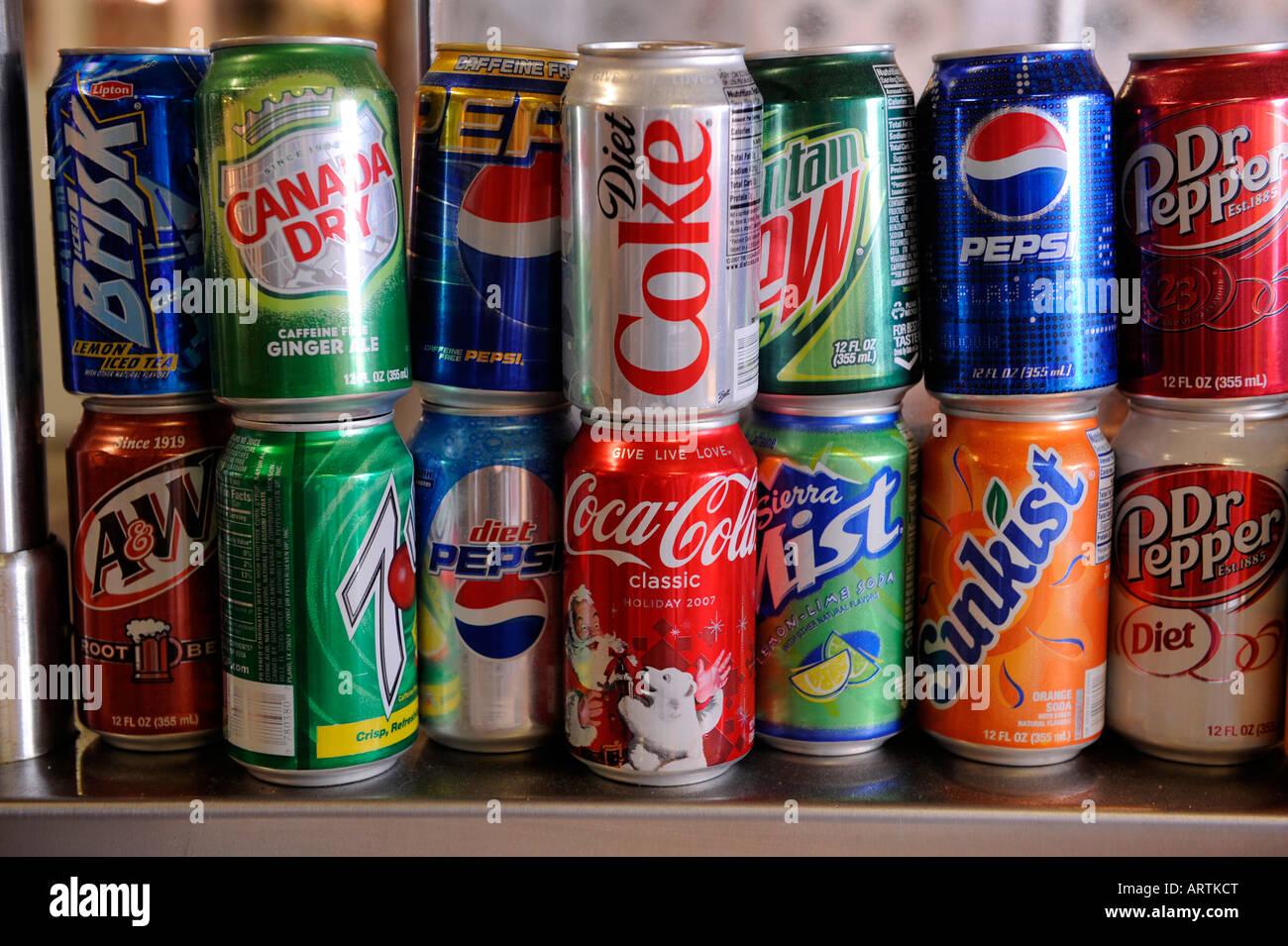 Soda Pop Display Stock Photos Amp Soda Pop Display Stock