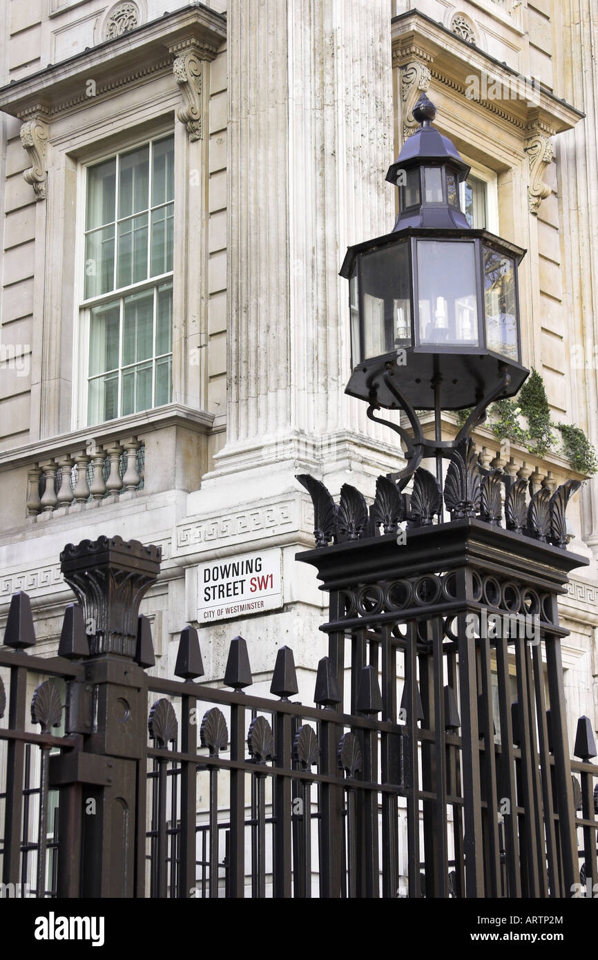 Downing Street, Westminster, London, England - Stock Image