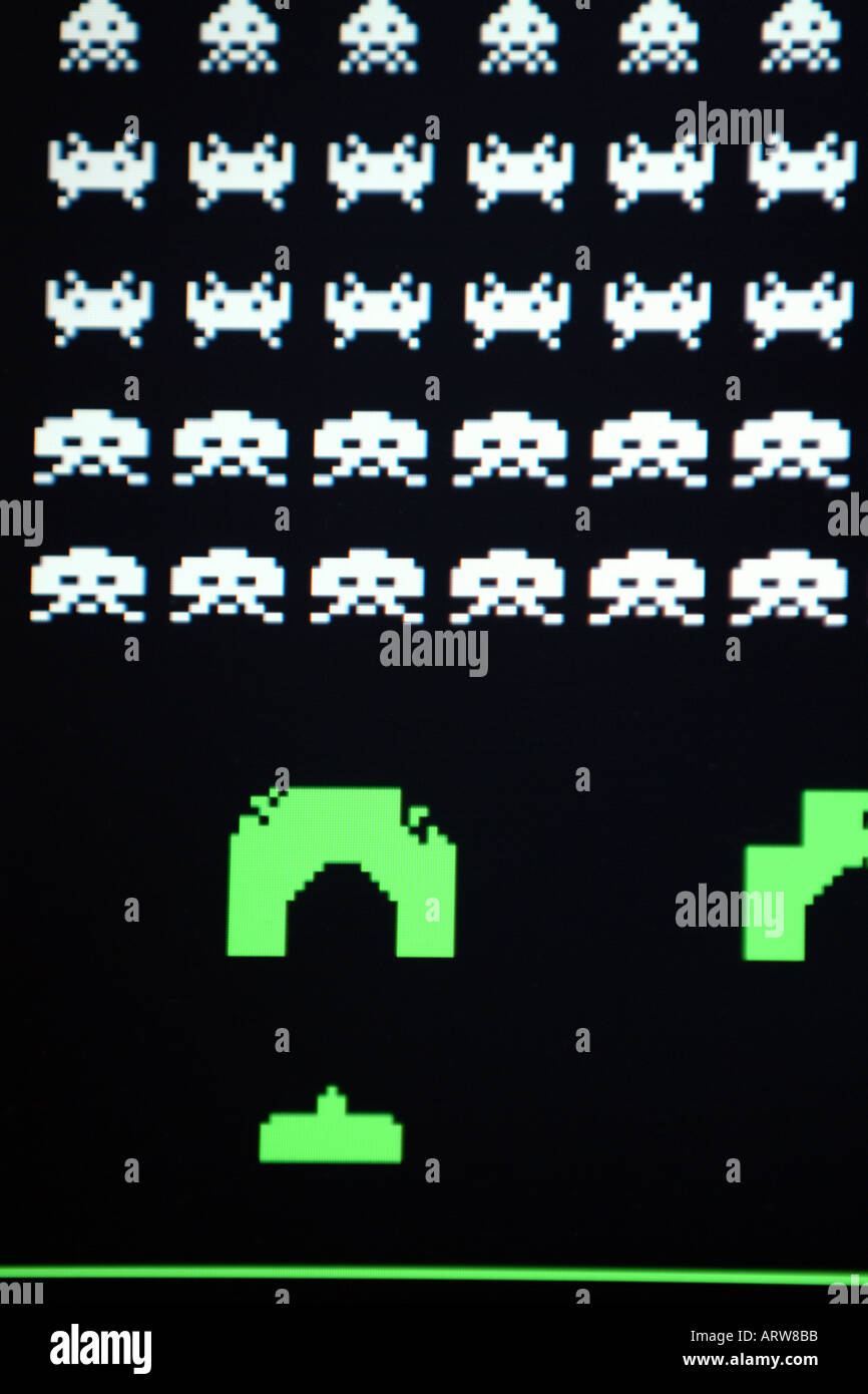 Space Invaders Stock Photos & Space Invaders Stock Images ...