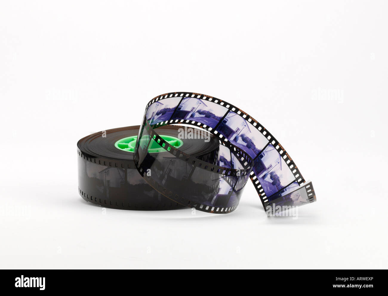 Reel of film - Stock Image