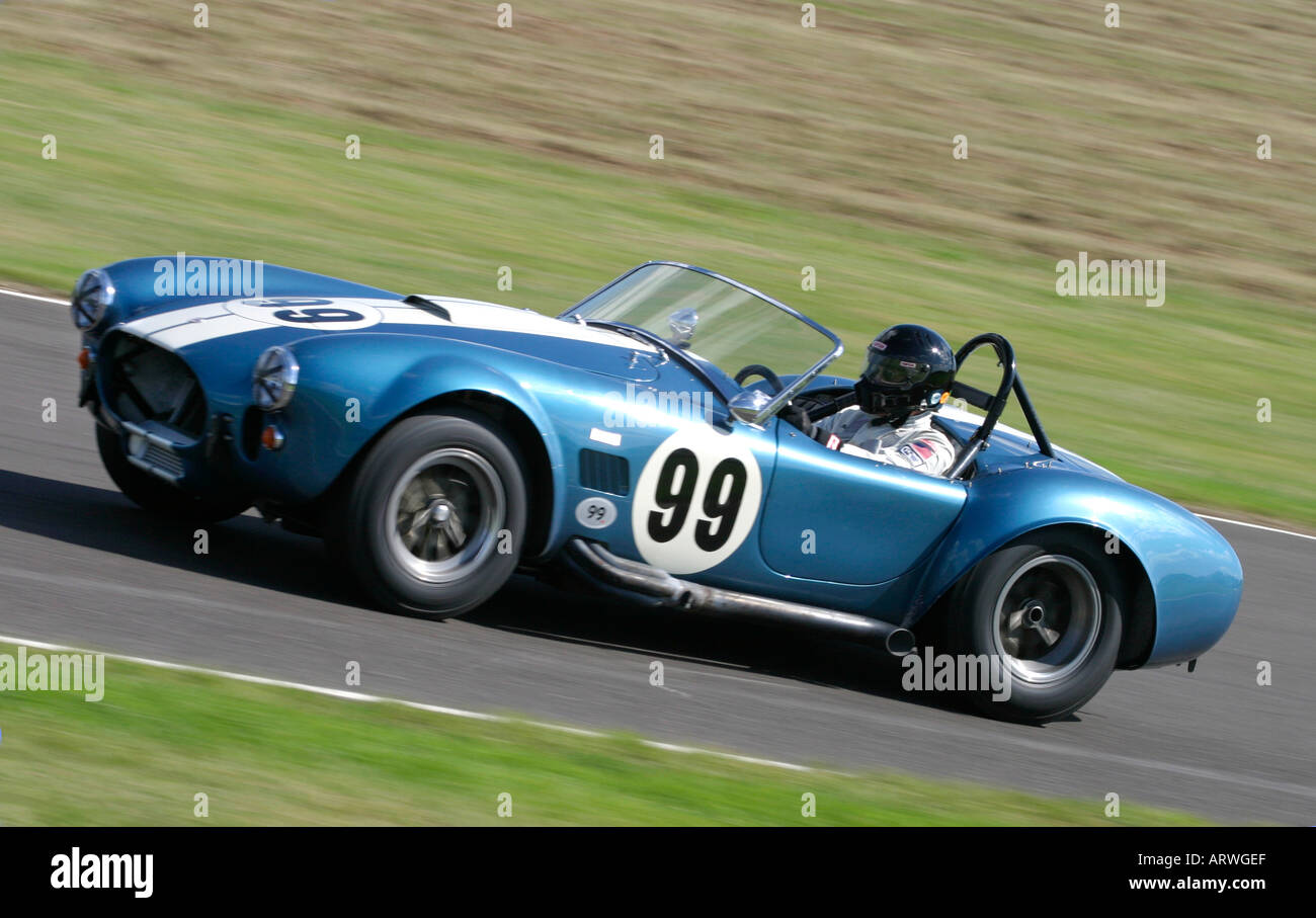 1965 Shelby Cobra 427 SC at Goodwood Revival, Sussex, UK Stock Photo ...
