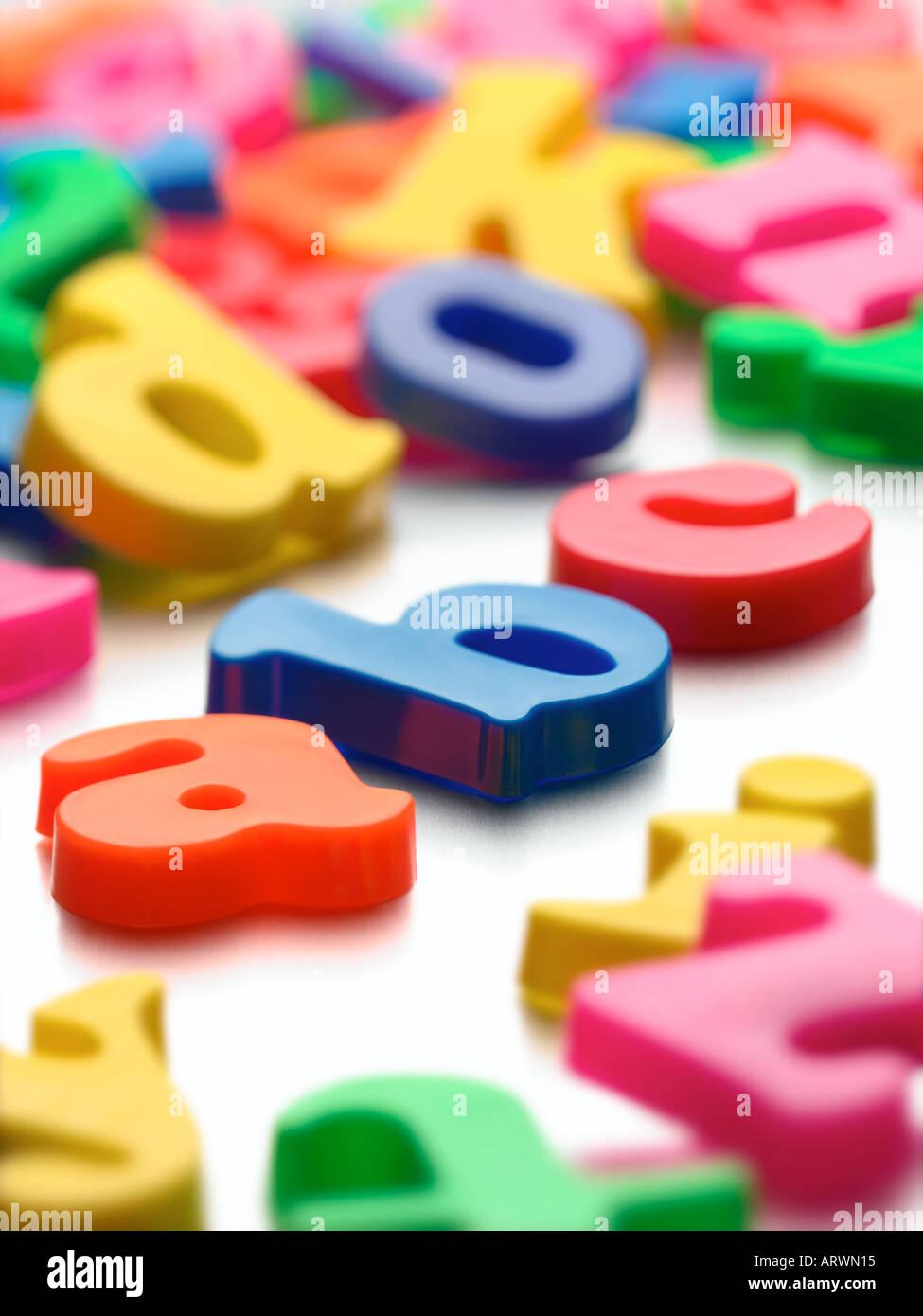 alphabet - Stock Image