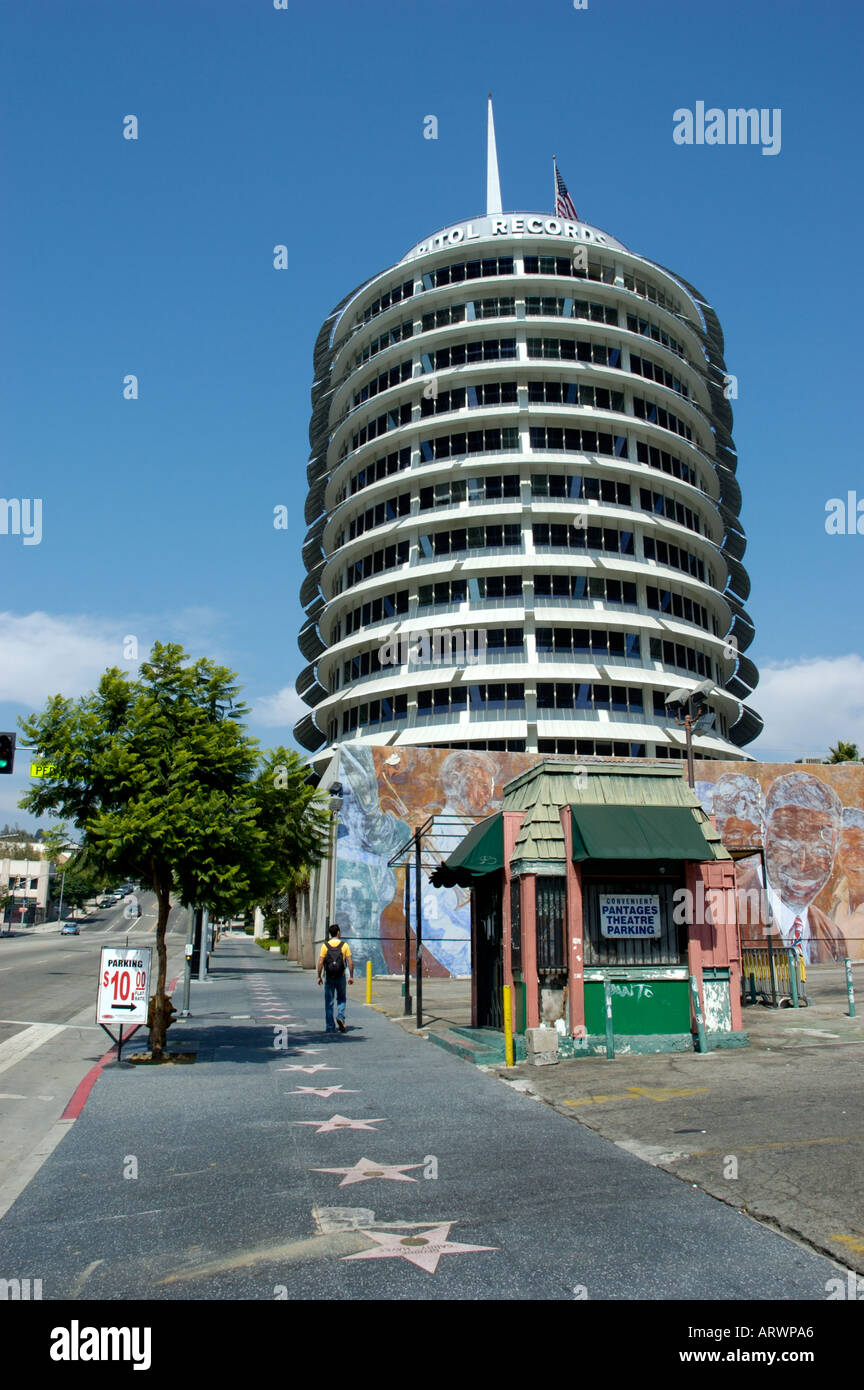 Hollywood Records: Southern California Los Angeles Hollywood Capitol Records