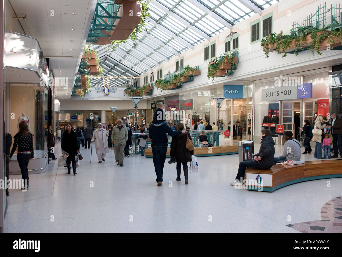 Intu Shopping Centre (formally Harlequin) - Watford - Herts - Stock Image
