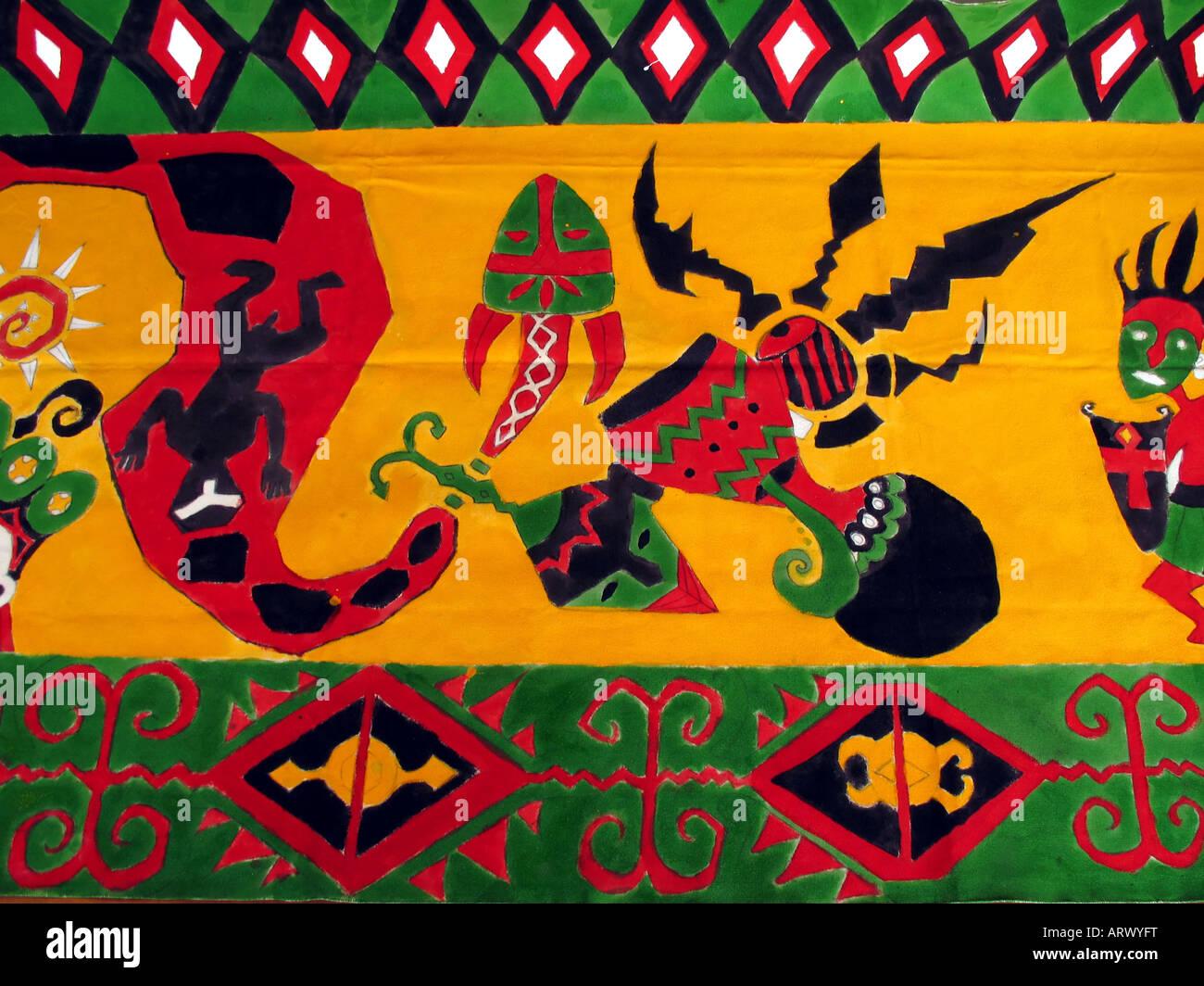 Native Tapestry - Stock Image