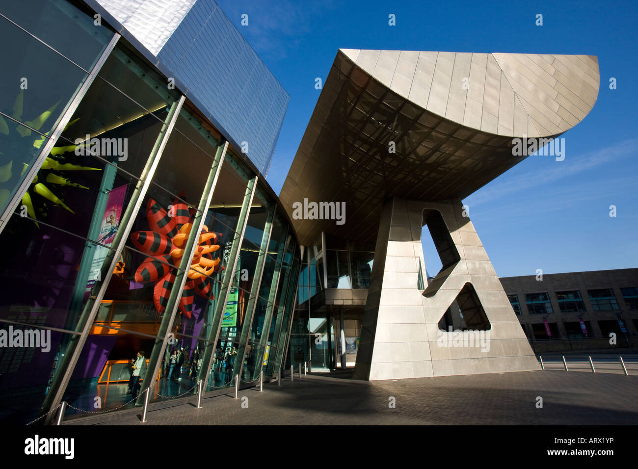 The Lowery Centre in Salford Quays Manchester in England - Stock Image