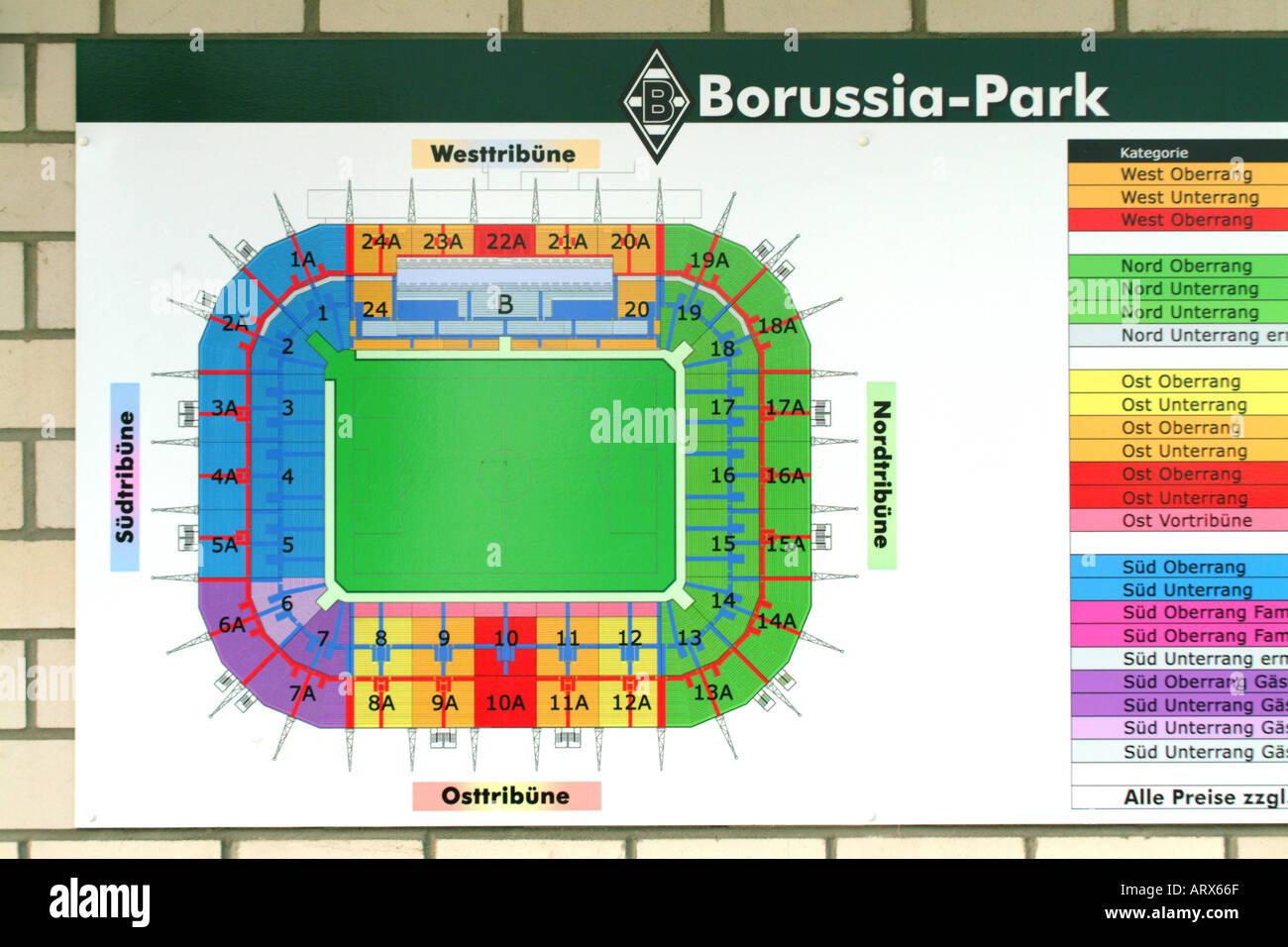 Borussia Mönchengladbach - Stock Image
