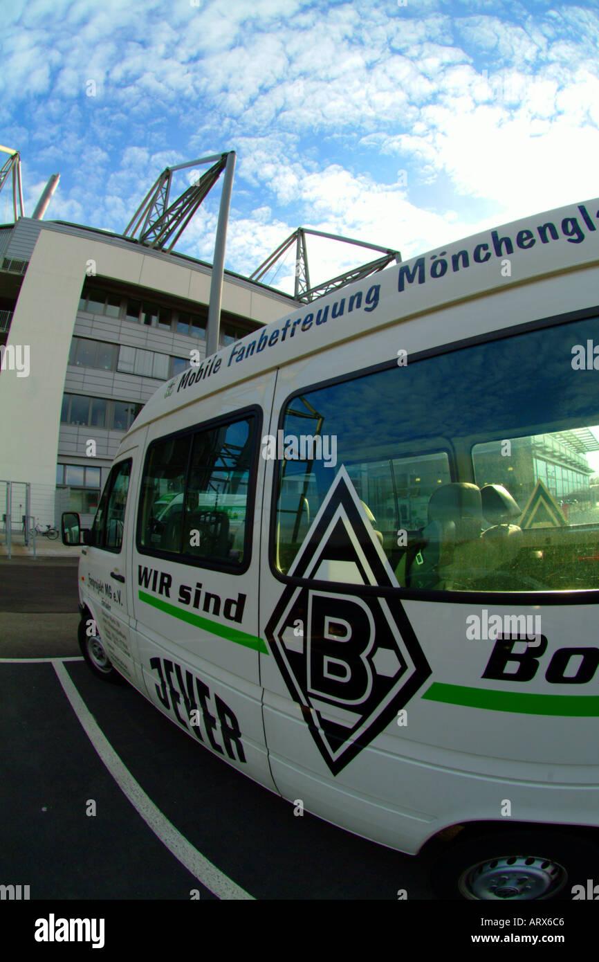 Borussia Park - Stock Image