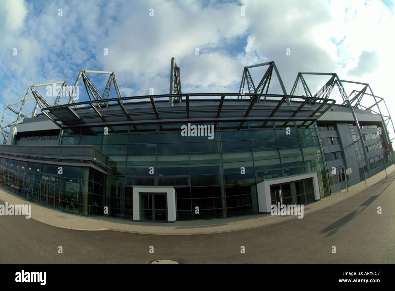 Borussia Park Stock Photo