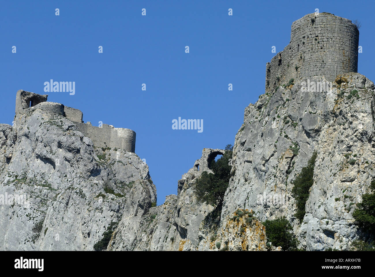 ROUTE OF THE CATHAR CASTLES CASTLE OF PEYREPERTUSE ORIENTAL ...