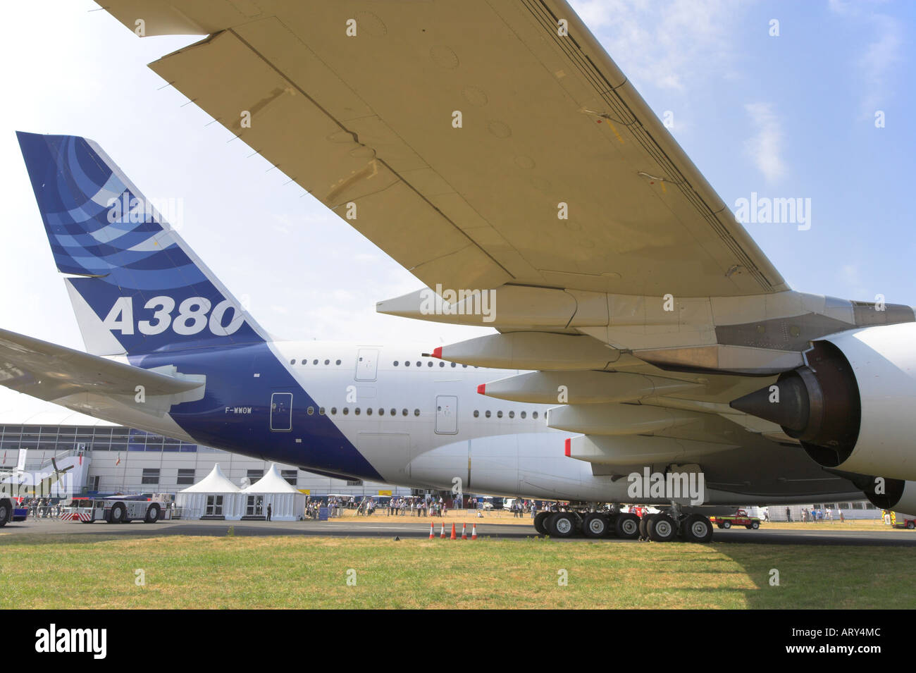 Two prototype Airbus A380 aircraft will soon be added to the exposition of French museums 39