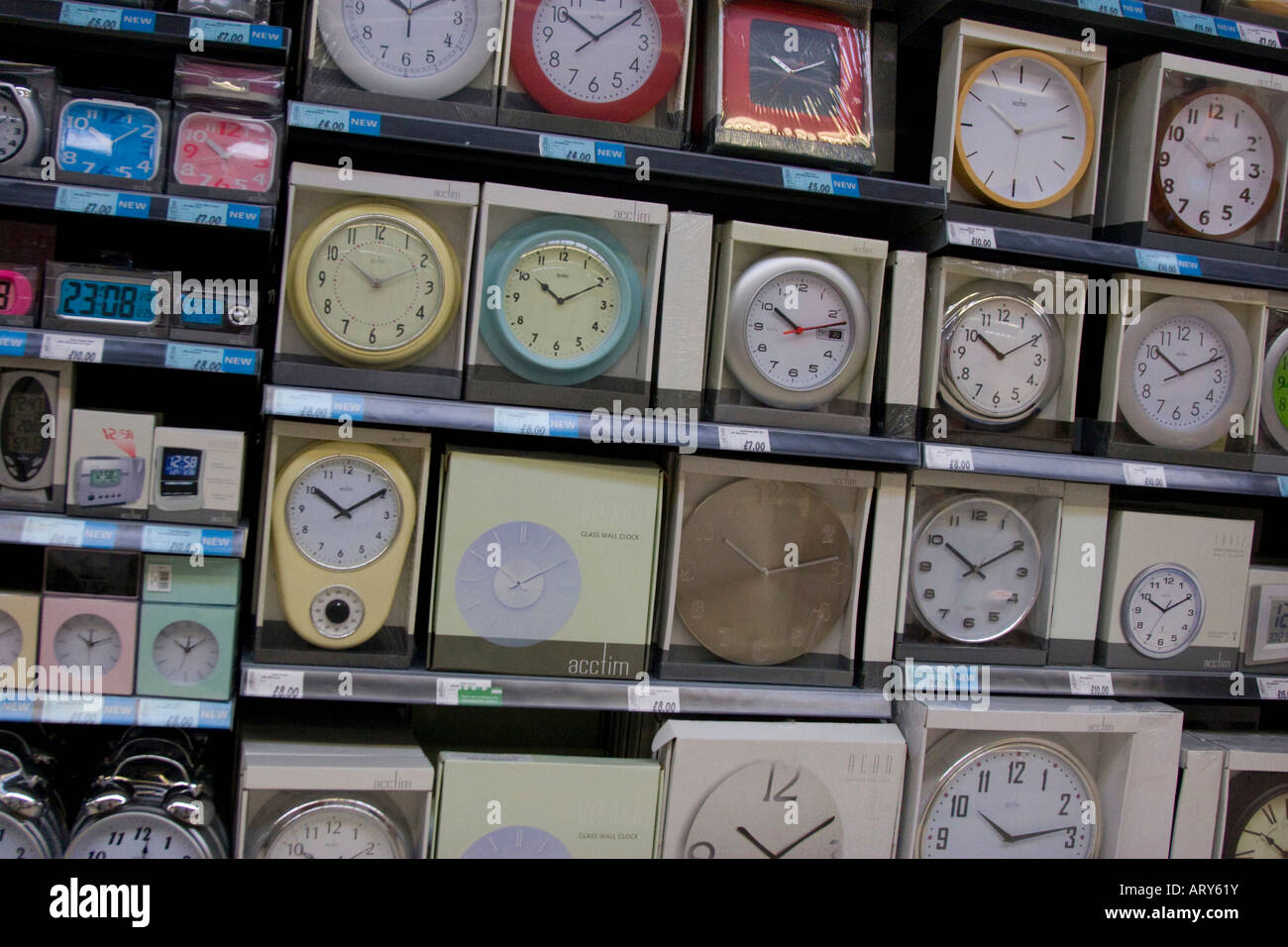 Wall Clocks Sale Stock Photos Wall Clocks Sale Stock Images Alamy
