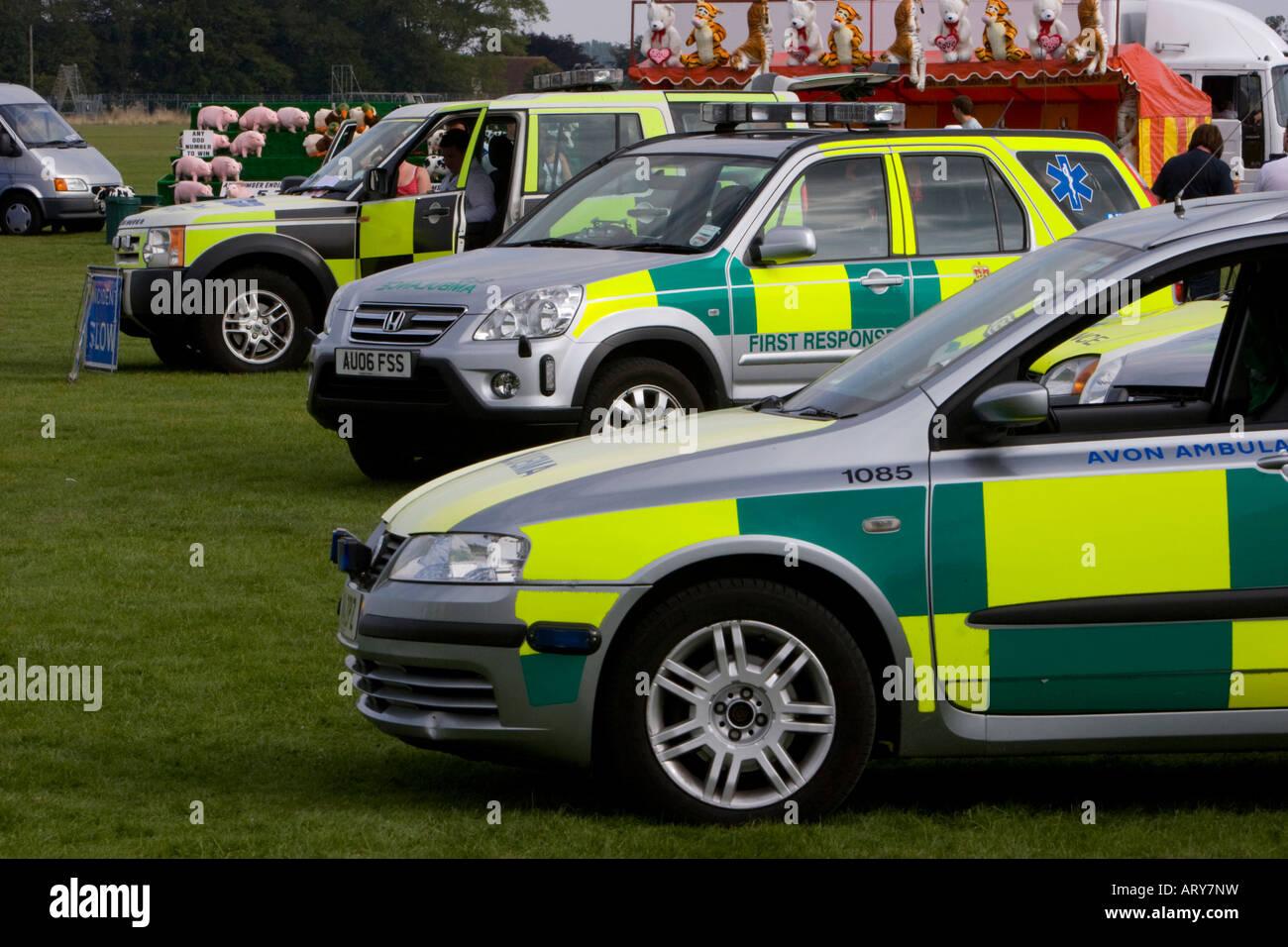 Ambulances - Stock Image