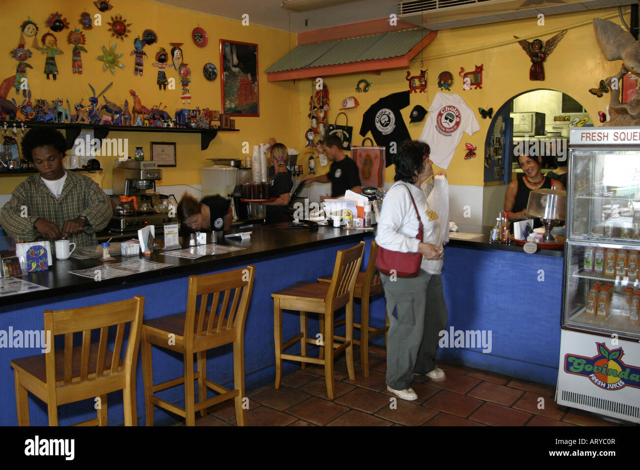 Cholo's restaurant serves delicious, authentic mexican cuisine. Located in the North Shore Marketplace in the - Stock Image