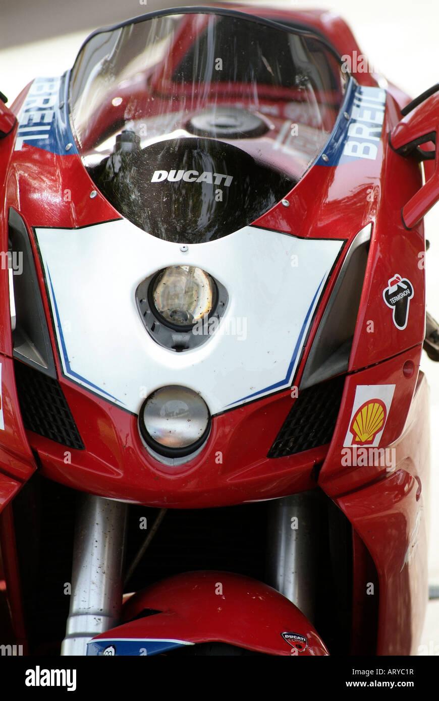 Ducati Sports Bike Motor Motorbike Motorcycle Stock Photo 16151314