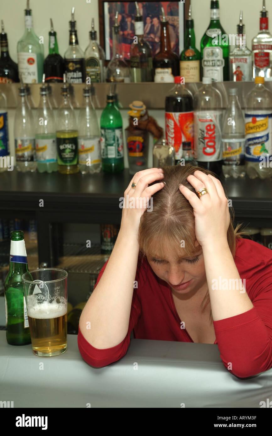 Consumption Drunk Female Stock Photos & Consumption Drunk ...