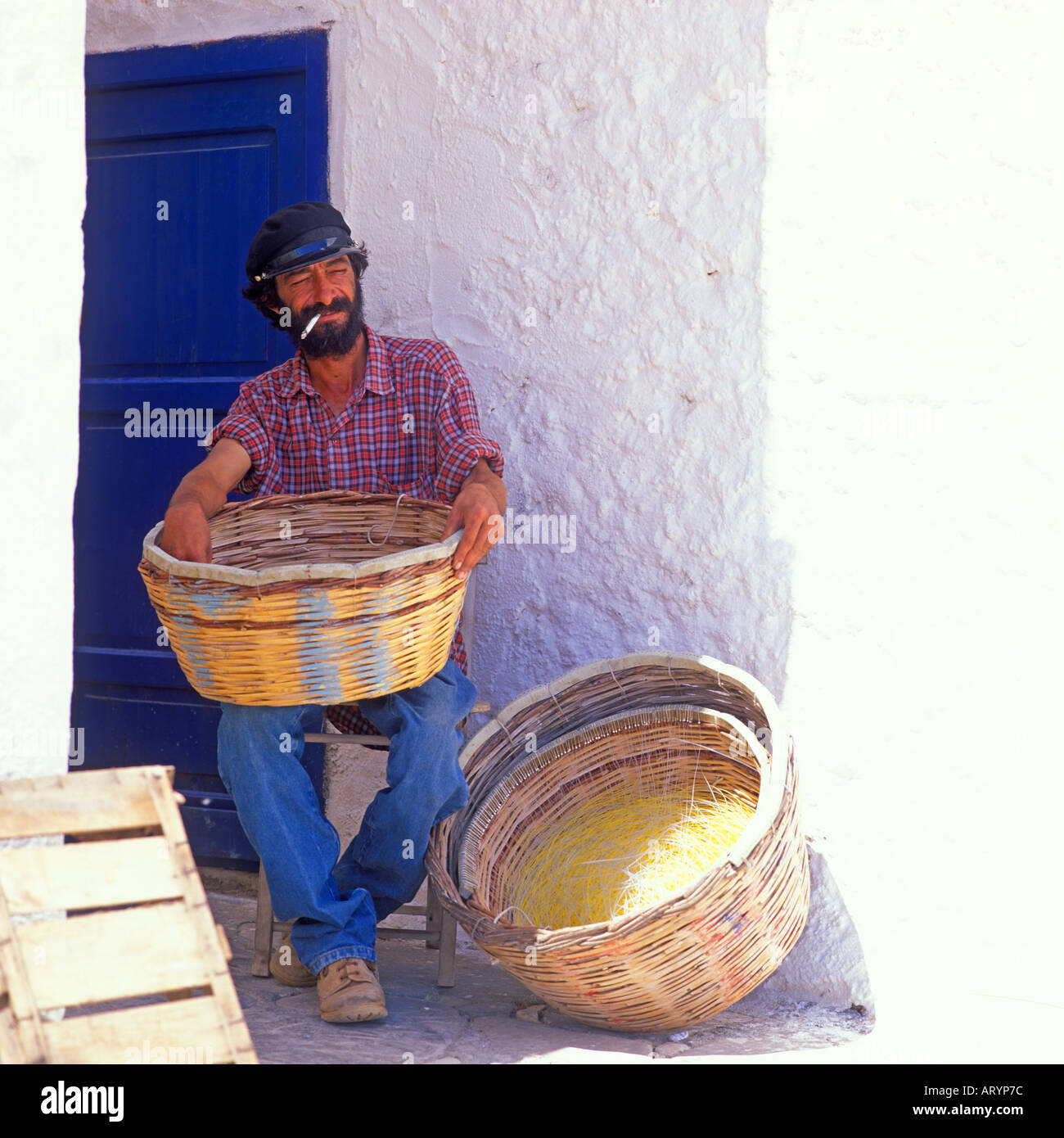 Page 2Greek Baskets High Resolution Stock Photography and