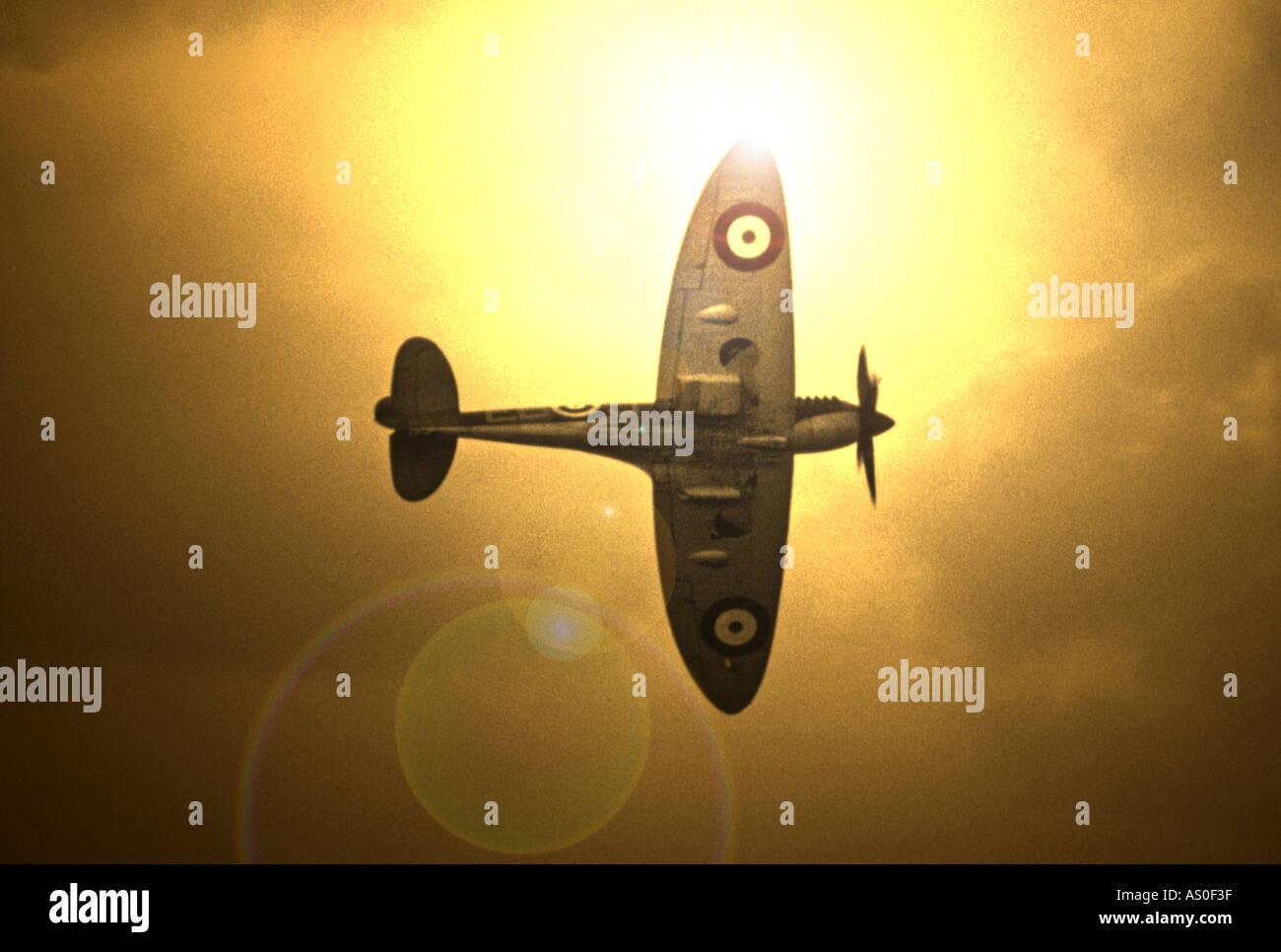 Supermarine Spitfire - Stock Image