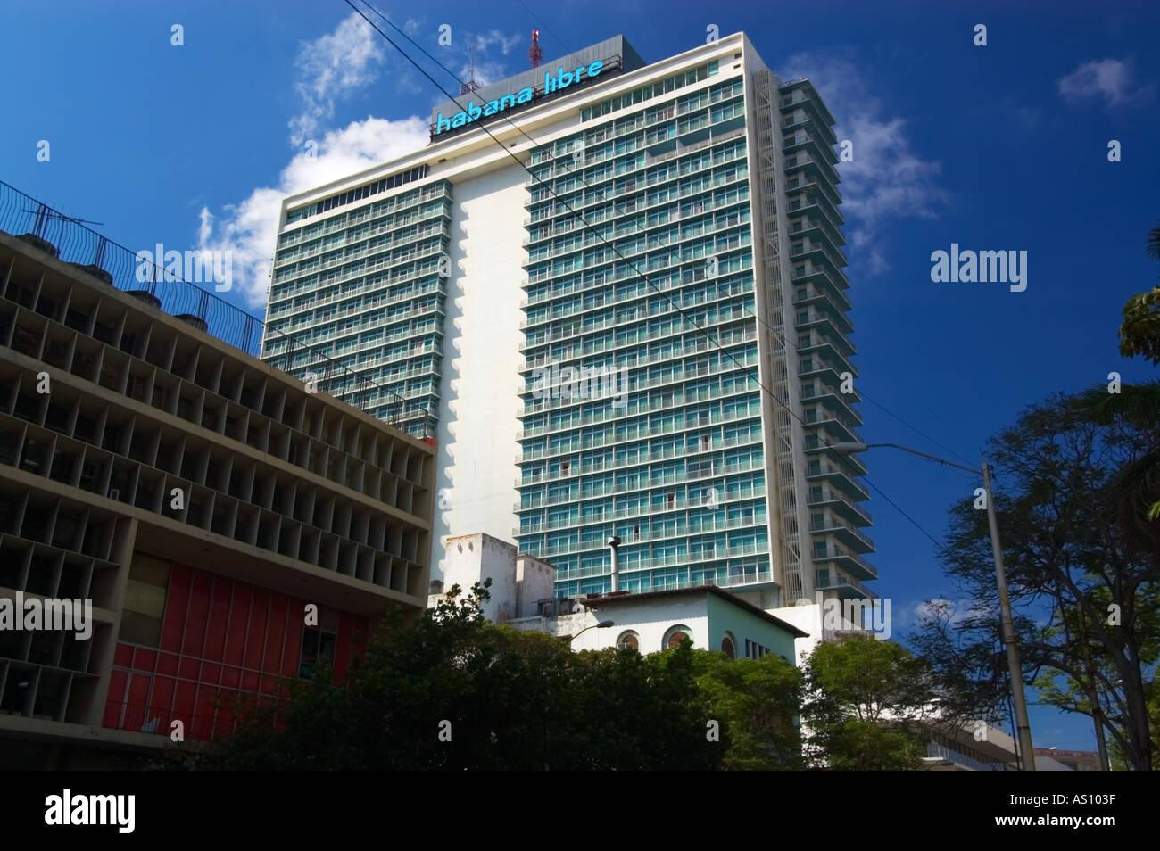 La Rampa, Hotel Habana Libre, Vedado, Havana, La Habana ...