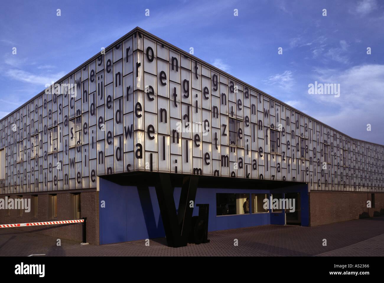 Ede, Druckerei in der Maxwellstraat, Architekt: Willem Jan Neutelings Stock Photo