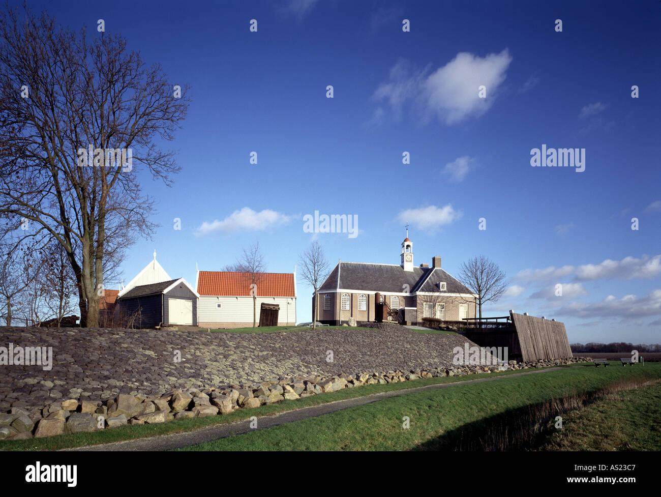 Schokland, Museumsdorf, - Stock Image