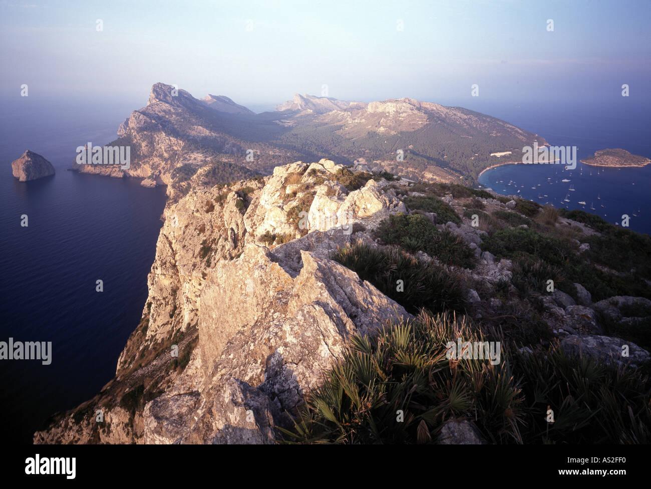 Cap Formentor, Landschaft - Stock Image