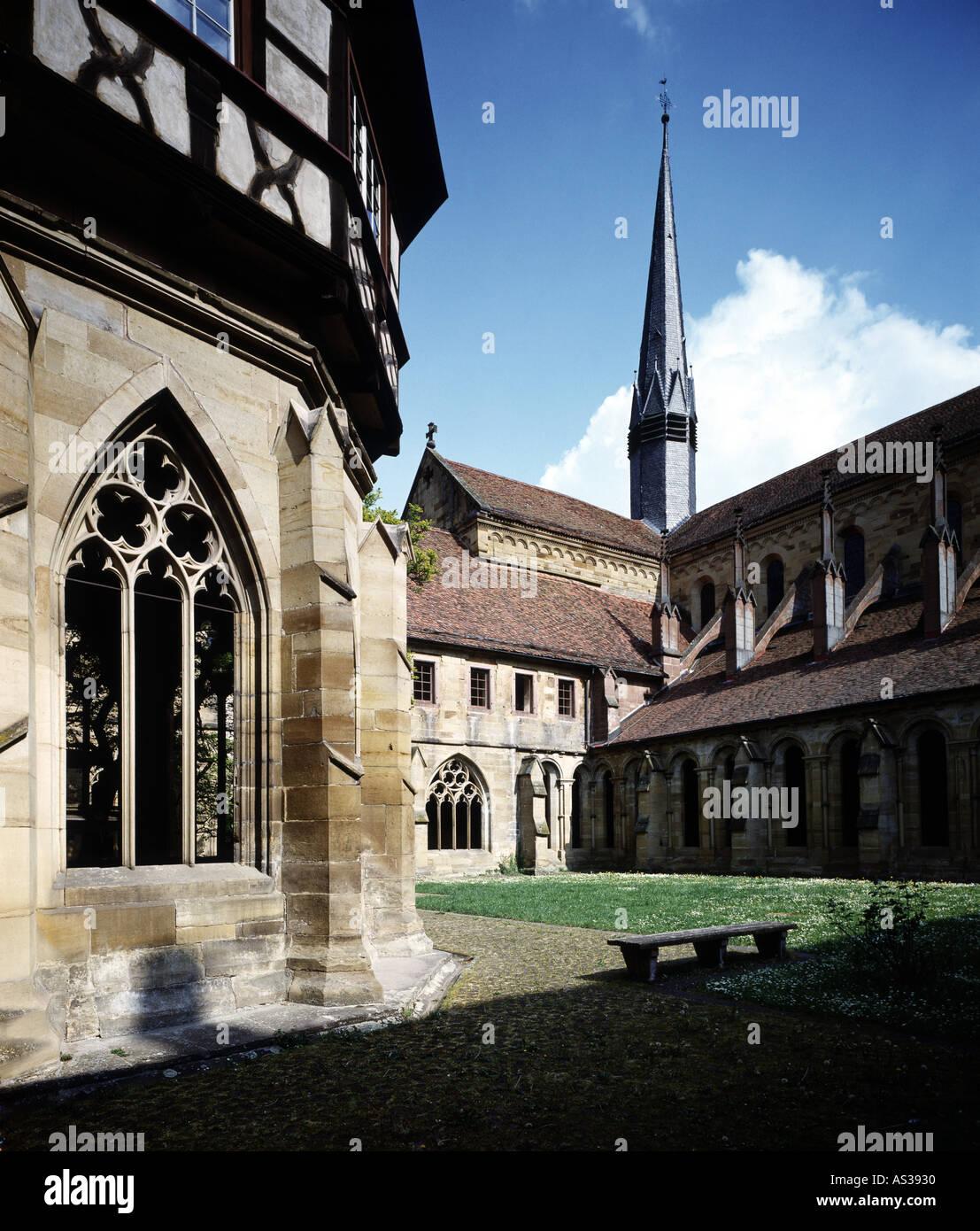 Maulbronn, Klosterkirche, Brunnenhaus Stock Photo