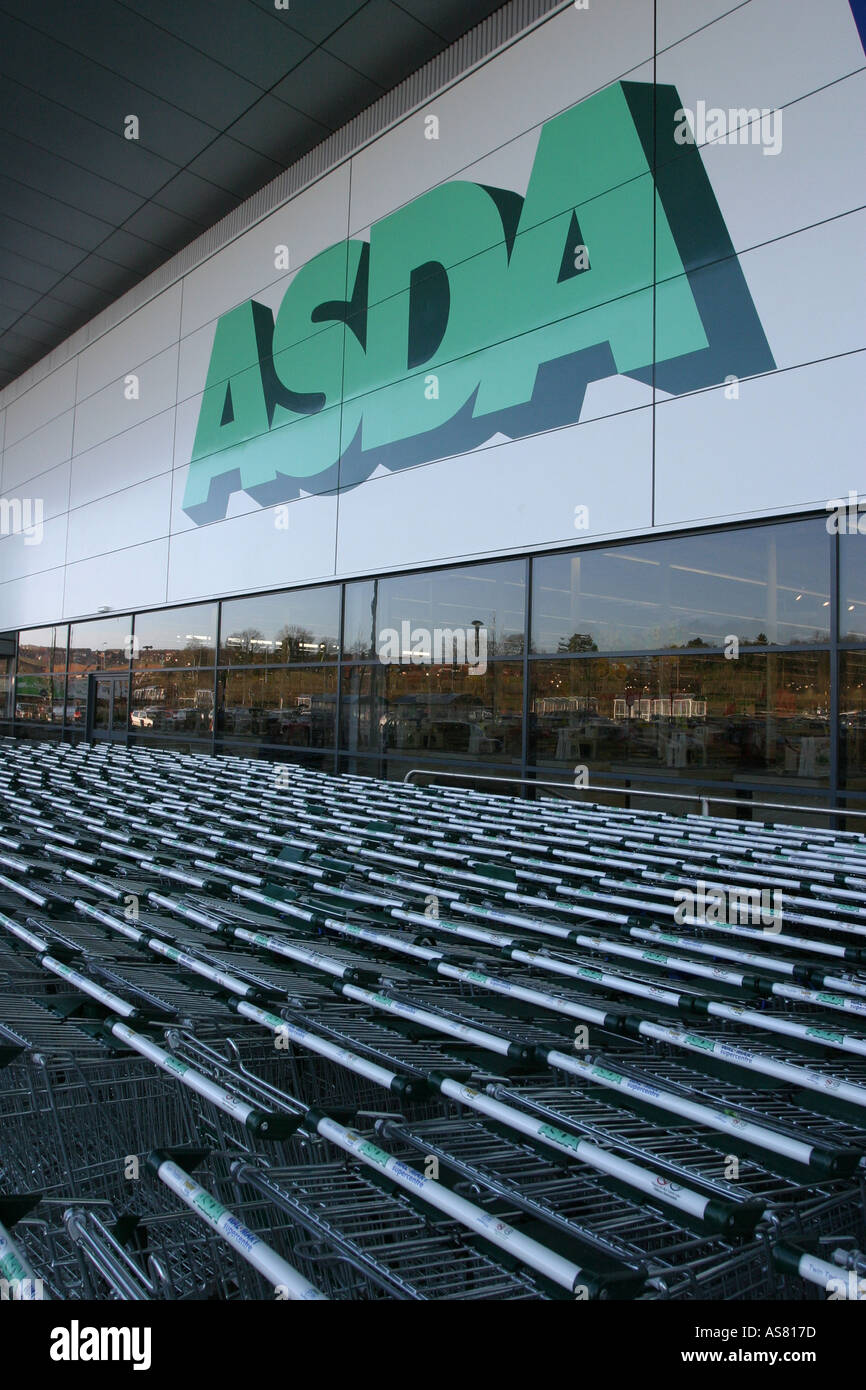 Asda Store Modern Stock Photos & Asda Store Modern Stock Images - Alamy